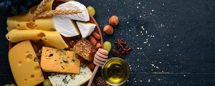 Käse- und Frischkäsesorten